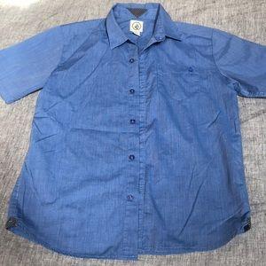 NWOT Boys sz L Volcom short sleeve button up shirt